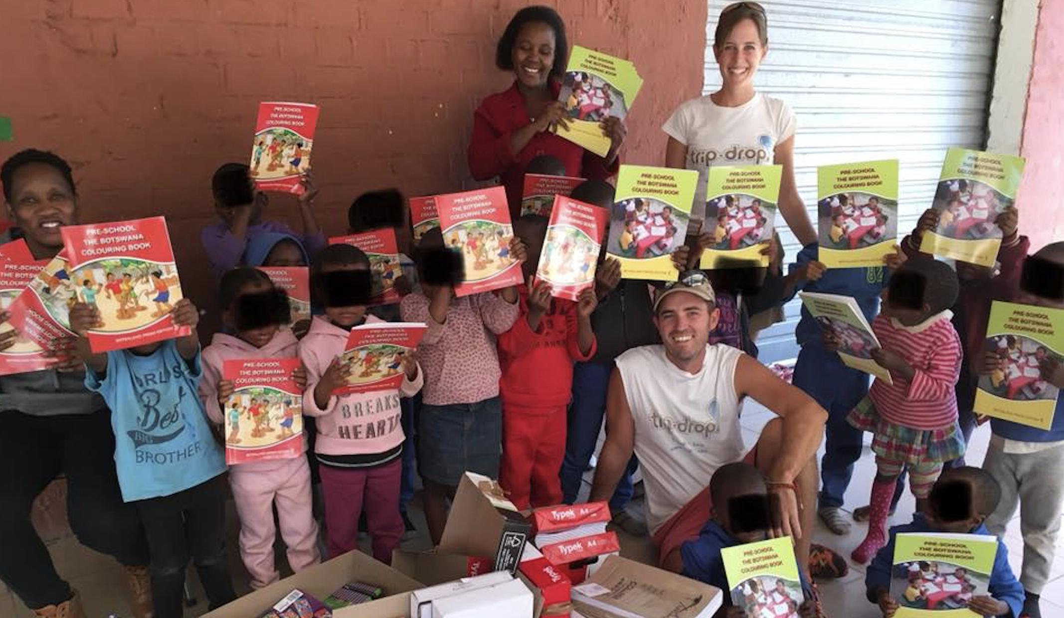 Ver, Oir y Viajar, entrega en Botswana