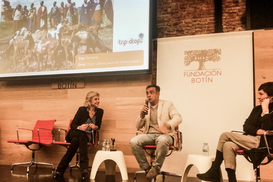 """Entrevista a trip-drop en Fundación Botín (""""Espacio Somos"""")."""